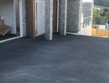 new drive way for new house