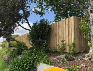 acoustic fence